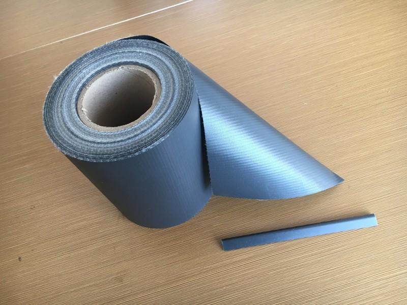 35m anthrazit pvc sichtschutz streifen zaunfolie doppelstabmatten zaun folie ebay. Black Bedroom Furniture Sets. Home Design Ideas